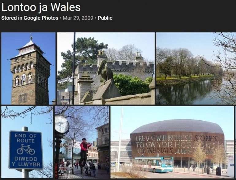 Lontoo ja Wales