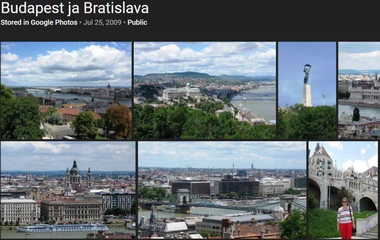 Budapest ja Bratislava