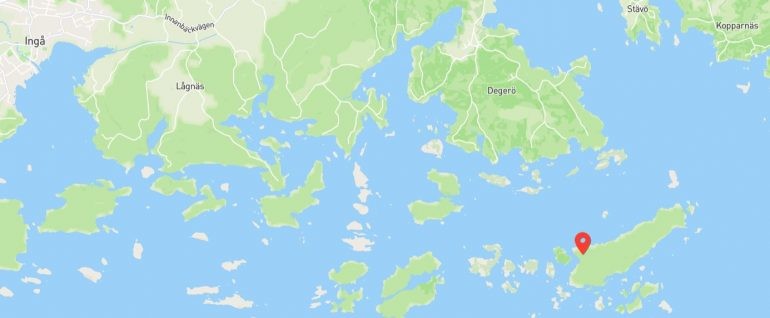 Vormö kartalla
