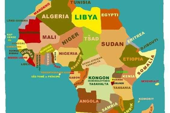 afrikan poikki