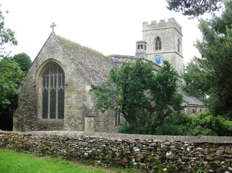 St. Mary's Church in Upper Heyford