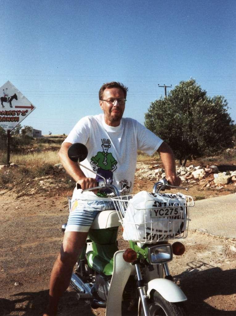 Moottoroitua pyöräilyä Fig Tree Bayhin ja Famagustaa katsomaan