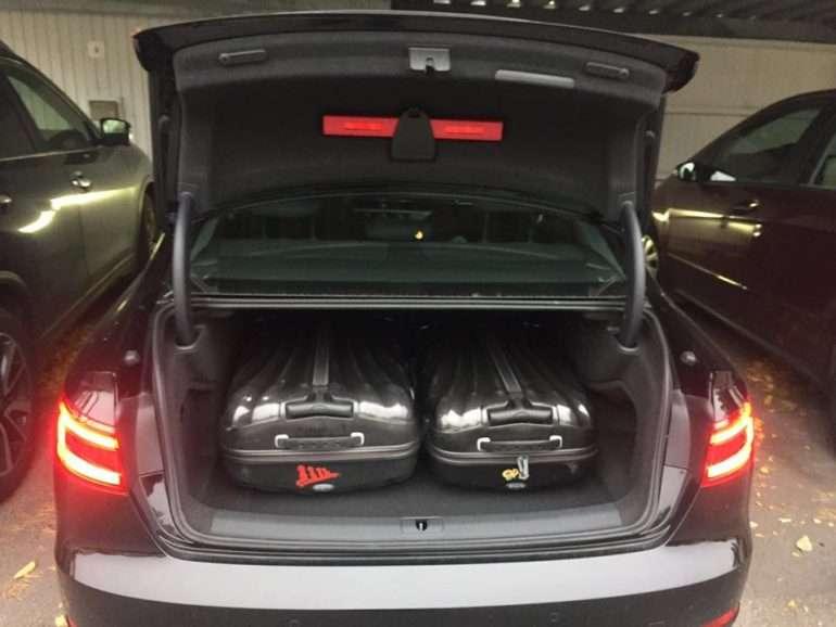 Audi A4 koeajossa
