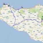 800 km Sisiliaa