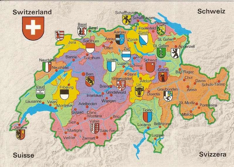 Sveitsin kantonit
