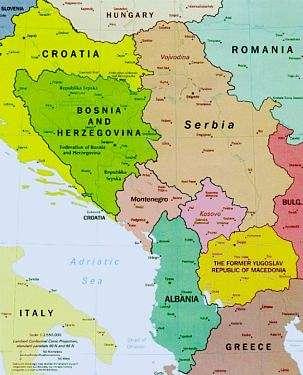 Jugoslavian raunioilla
