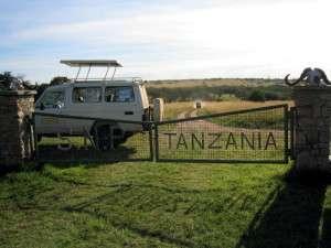 Kenian ja Tansanian rajalla