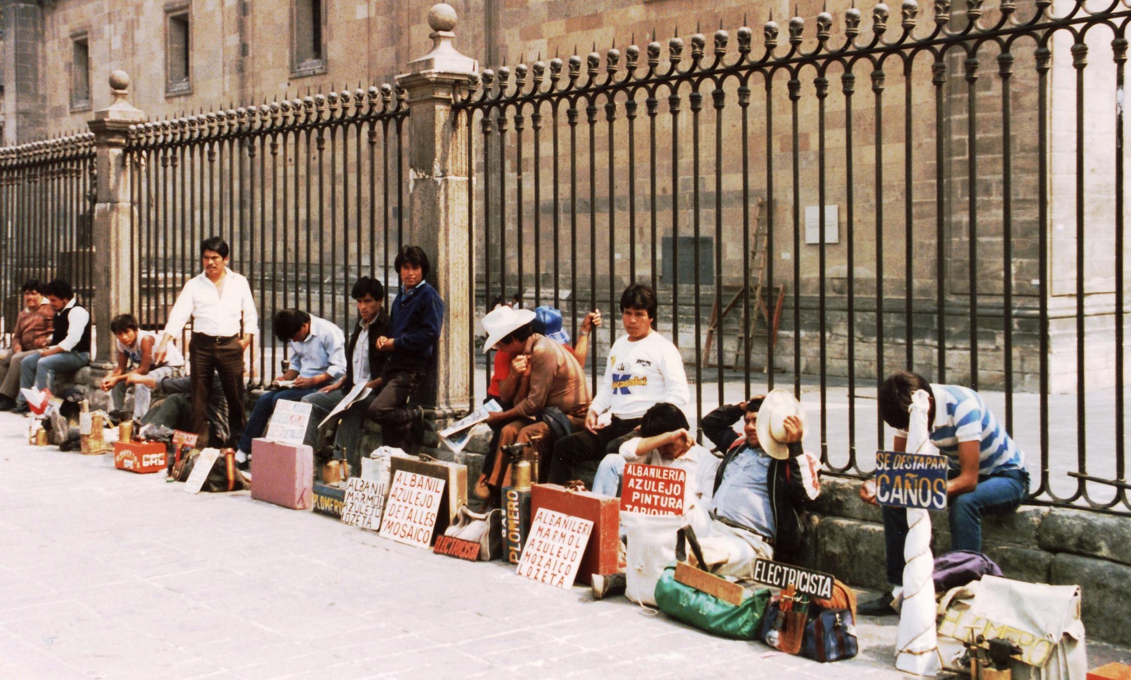 Matkalla Mexico Cityyn