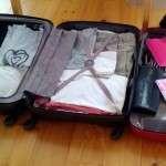 5 viikkoa matkalaukkuelämää