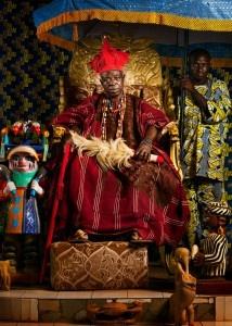 1.His Majesty alero Alade Ife of Ketau 110x80 cm2012