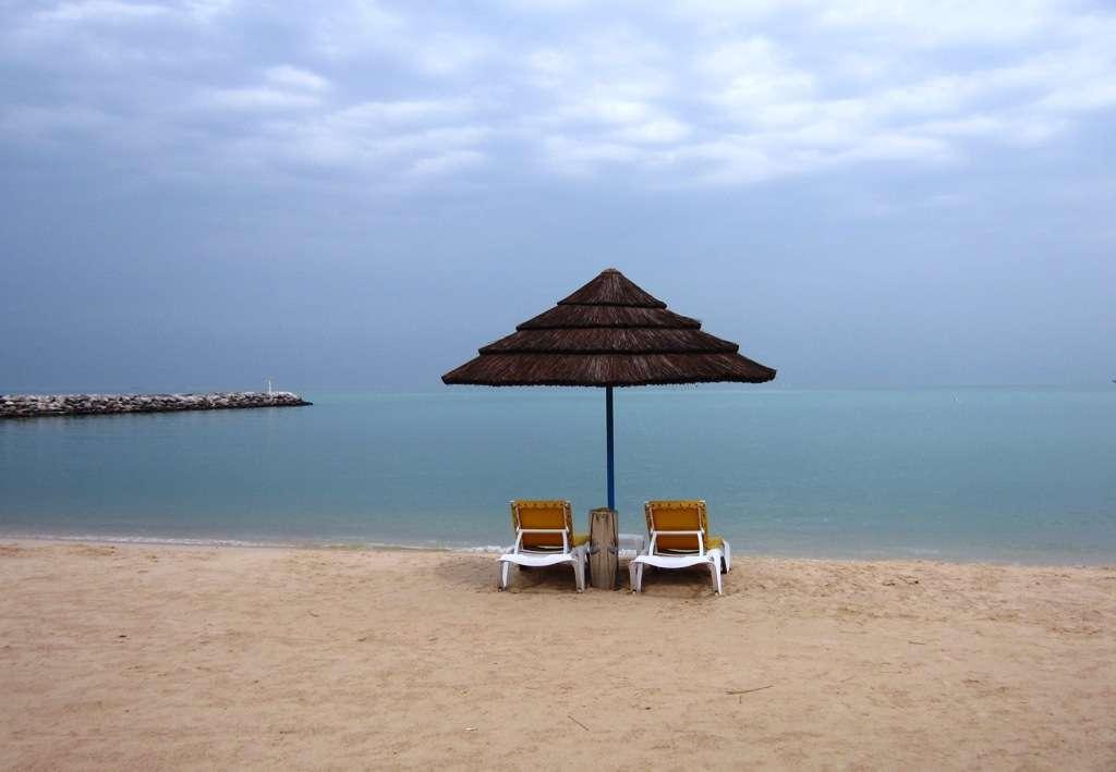 Jos autiota hiekkarantaa etsit, niin tällainen olisi Kuwaitissa