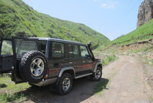 Jeeppimme Armeniassa