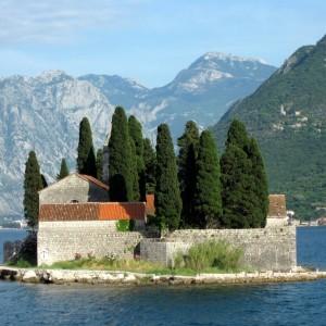 Montenegro Perast monastery