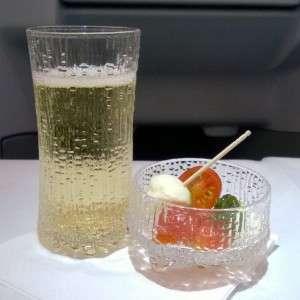 Finnair business alkupalat