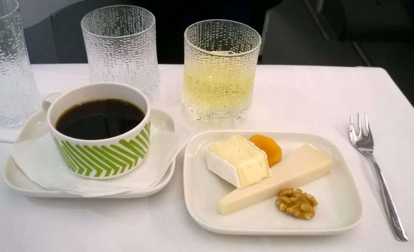 Finnair business juustot