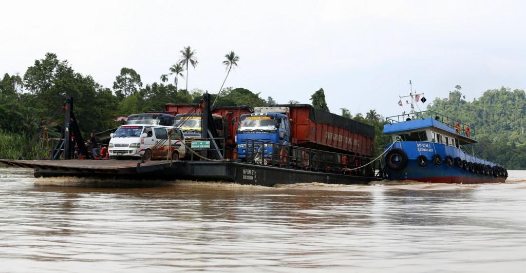 Kinabatang River Borneo Malesia