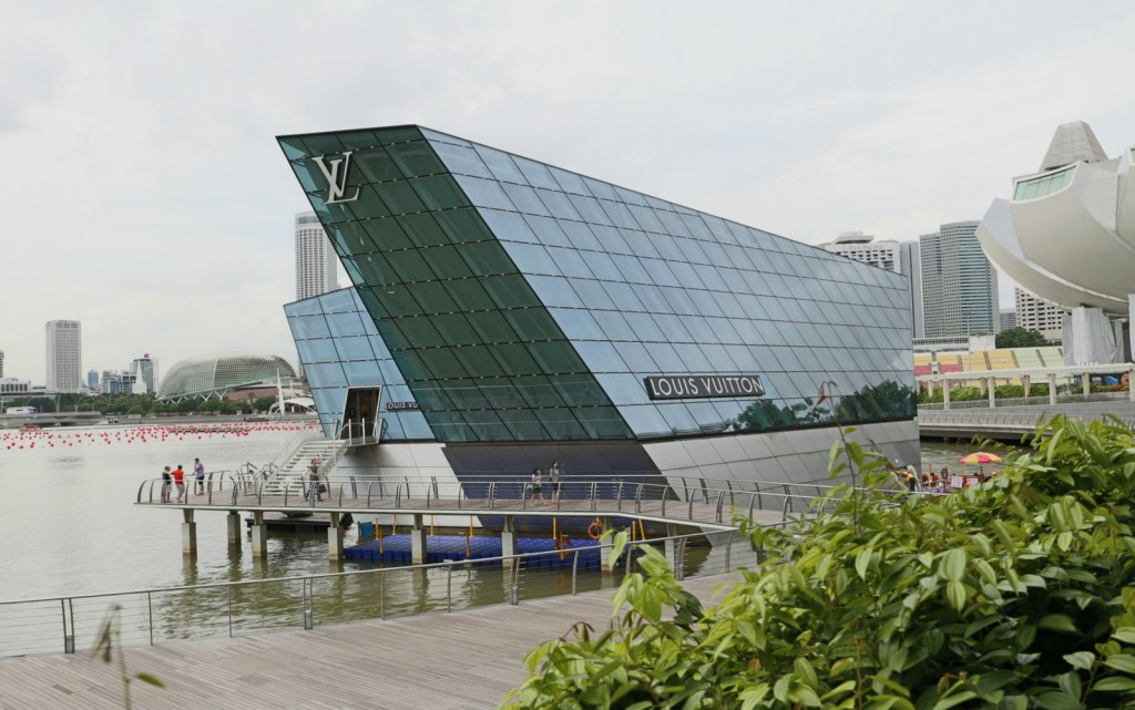 Louis Vuitton The Shoppes Singapore