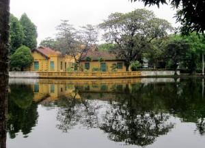 Hanoi Vietnam Ho Chi Minh house