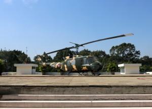 Ho Chi Minh City Saigon President Palace helicopter
