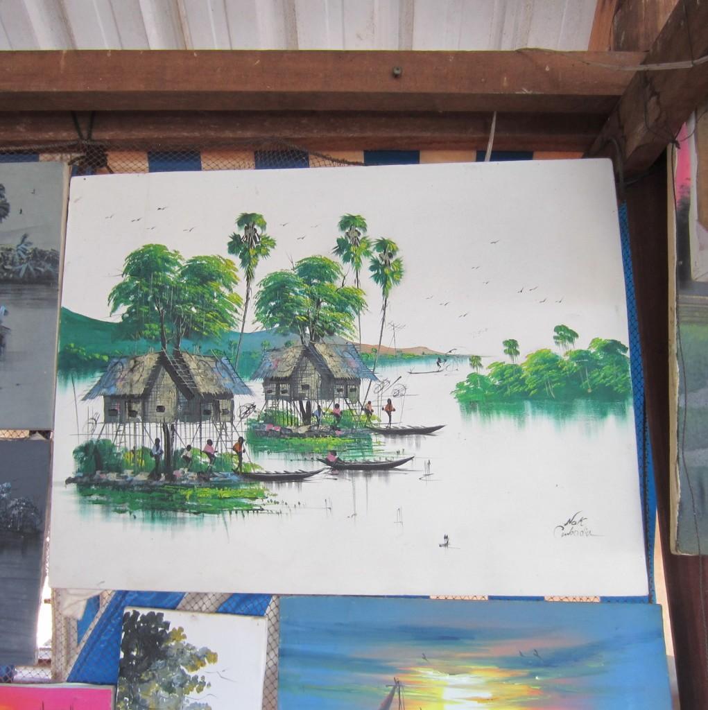Tonle Sap Kambodza
