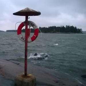 Syysmyrsky Espoo Haukilahdenranta