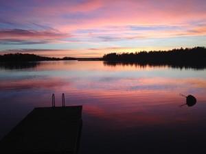 Sunset Matinkylä Espoo Finland