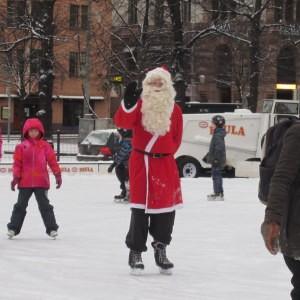 Joulupukki Rautatientori Helsinki