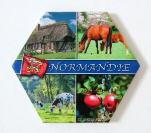 Fridge magnet Normadie