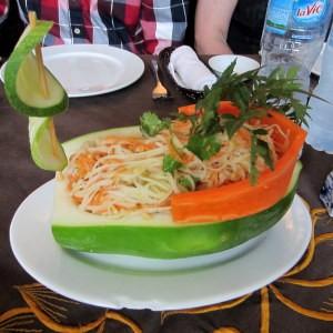 Papayja boat Vietnam