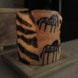 Swaziland candle