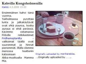 Meriharakka.net archive story 2006