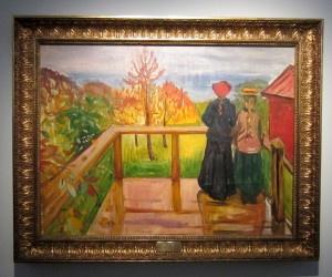 Verannalla Edvard Munch