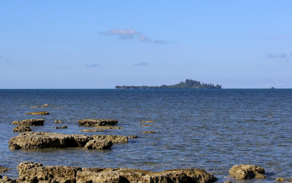 Philippines island near Malaysia border Sabah