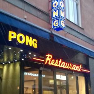 Restaurant Pong Stockholm