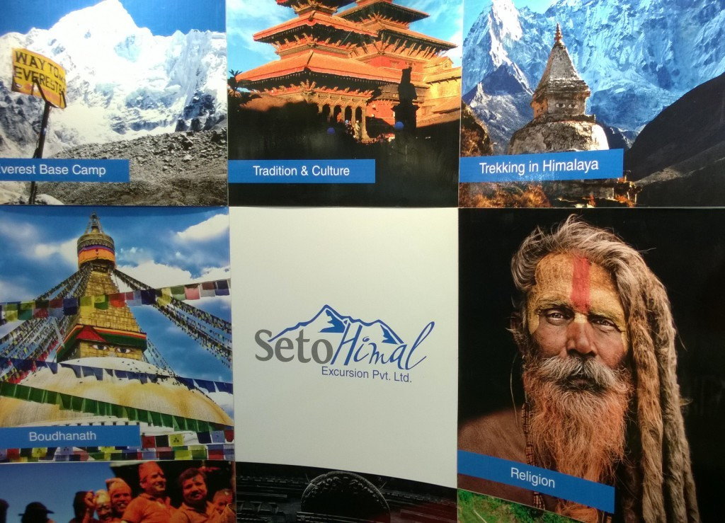 Nepal matkamessuilla