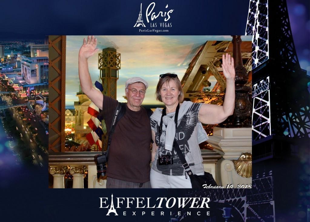 Las Vegas Paris Eiffel Tower