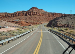 On the road to Bryce Canyon