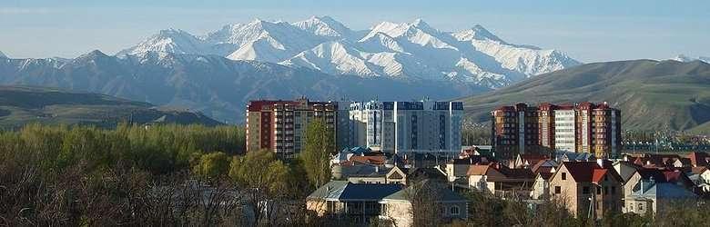 Bishkekin maisemia