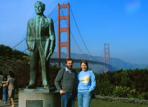 San Francisco Golden Gate 1982
