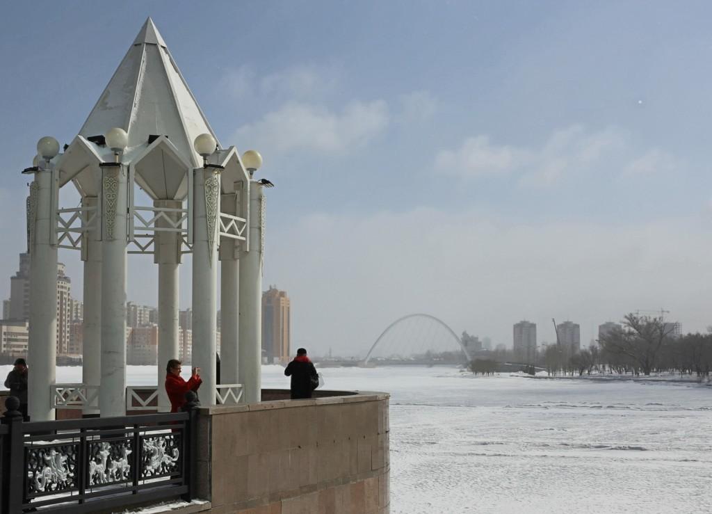 Astana Ishim-joki