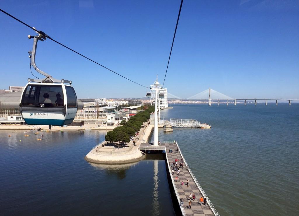 Telecabina Lissabon Portugal
