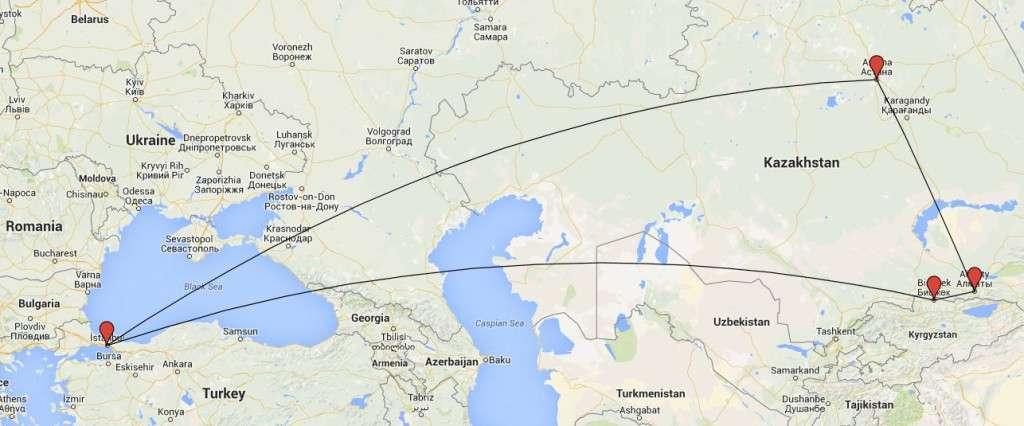Kirgisia ja Kazakstan