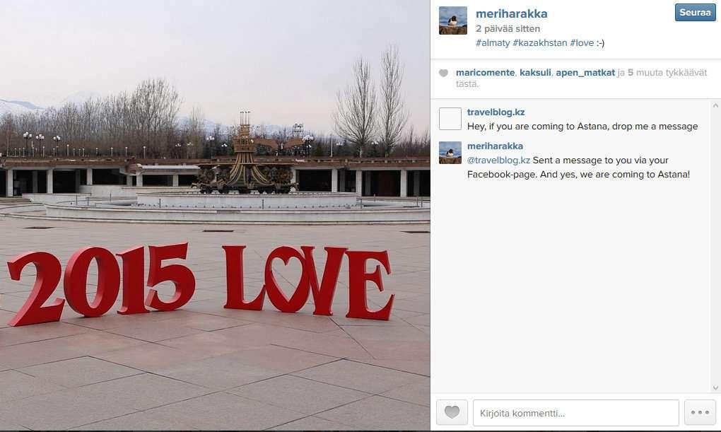 Meriharakka on Instagram