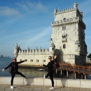 Belemin torni ja pari turistia