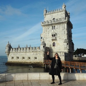 Belemin torni ja turisti