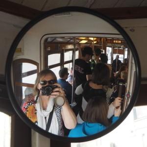 Lissabon tram 28 St Georges