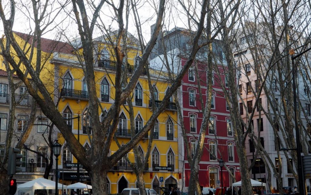 Lissabon Avenida da Liberdade