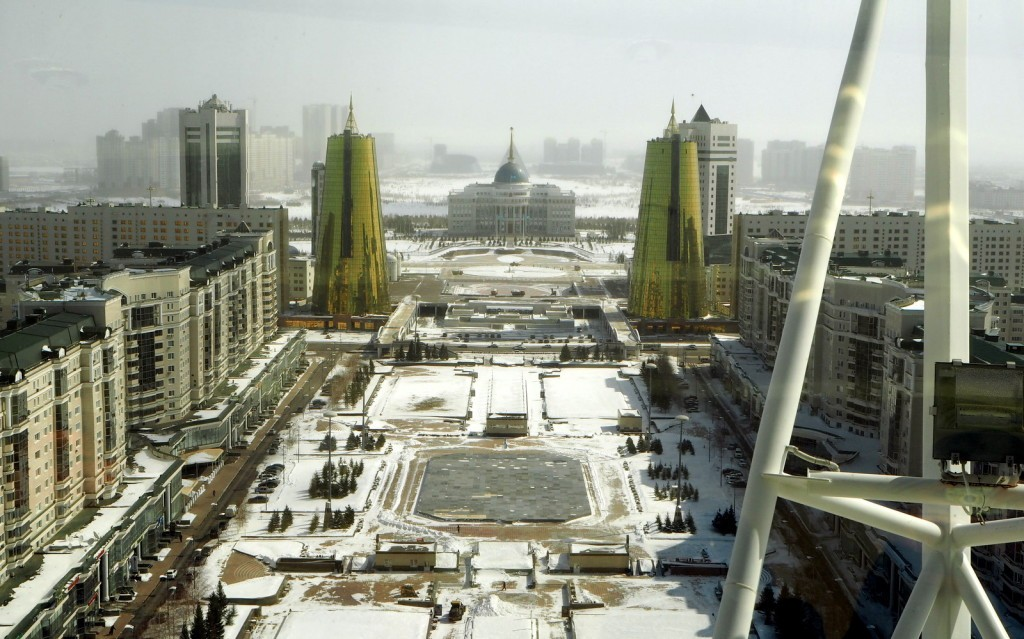 Astana presidentin palatsi Baiterek