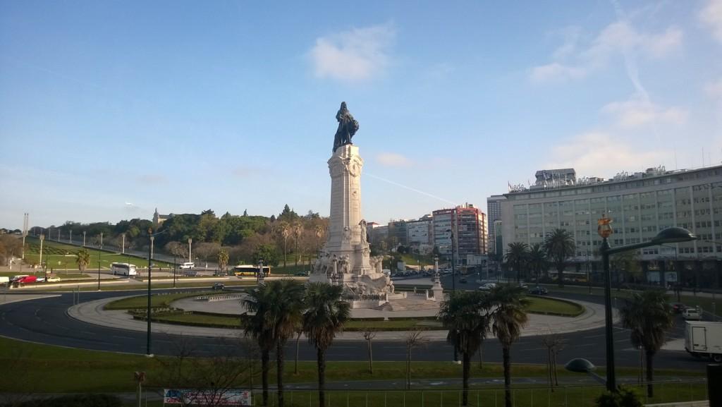 Lissabon Praca do Marque Pombal