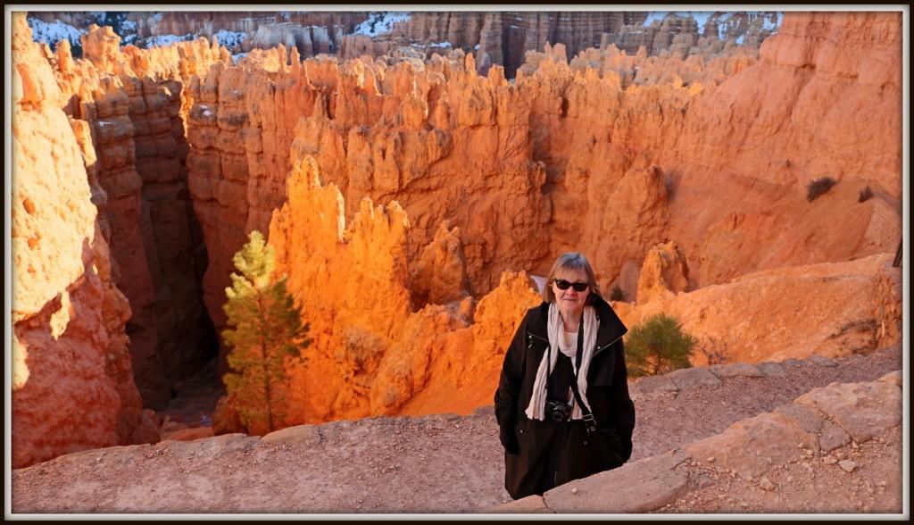 Marimekon parka Bryce Canyonissa